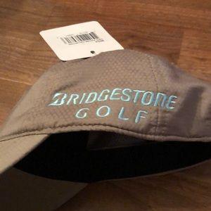 6320a42d bridgestone golf Accessories - Bridgestone Golf Khaki Blue Kuchar Baseball  Hat